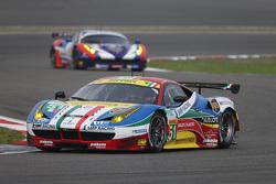 #51 AF Corse Ferrari 458 GTE: Джанмария Бруни, Тони Виландер