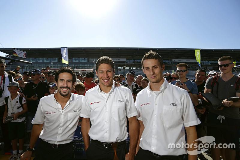 Лукас ді Грассі, Лоік Дюваль, Олівер Ярвіс, Audi Sport Team Joest