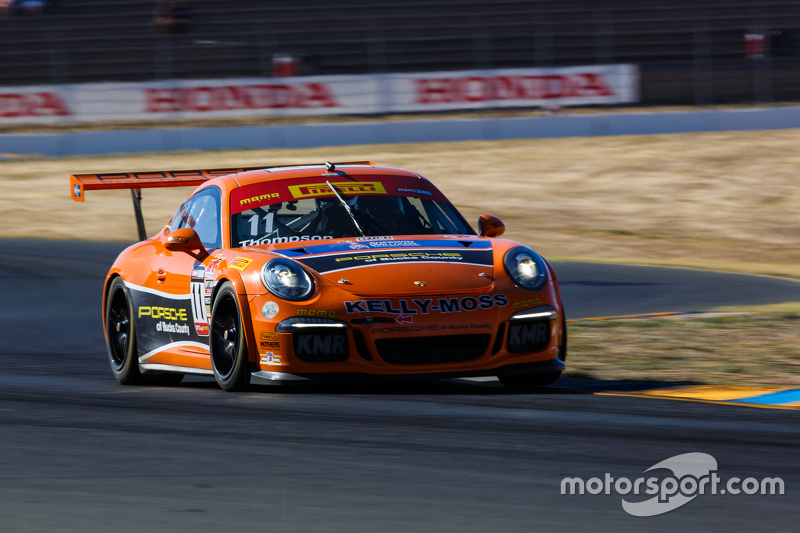 11 Kelly Moss Motorsports Porsche 911 Gt3 Cup Colin
