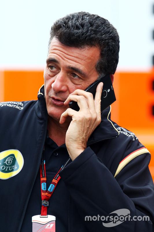 Federico Gastaldi, diretor Lotus F1 Team