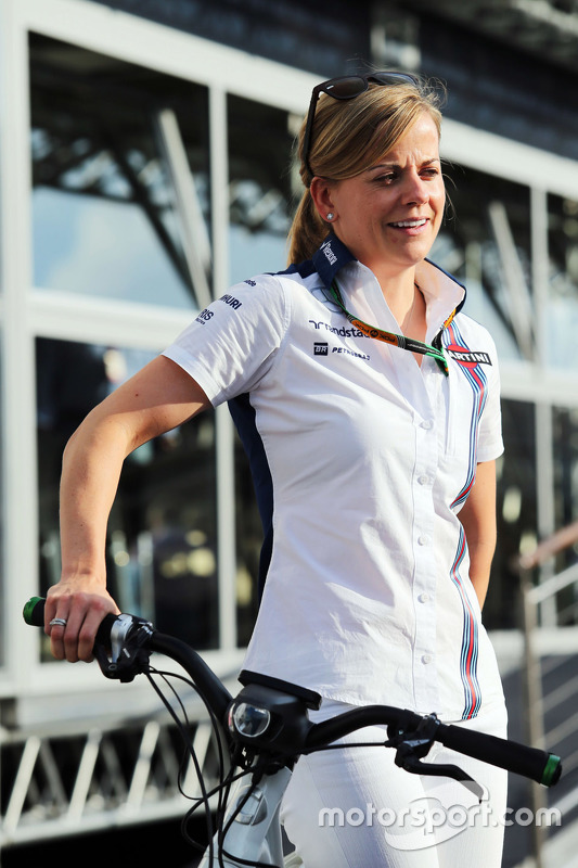 Susie Wolff, Williams Piloto de Desarrollo