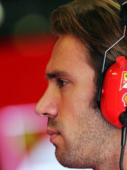 Jean-Eric Vergne, Ferrari piloto de testes e desenvolvimento