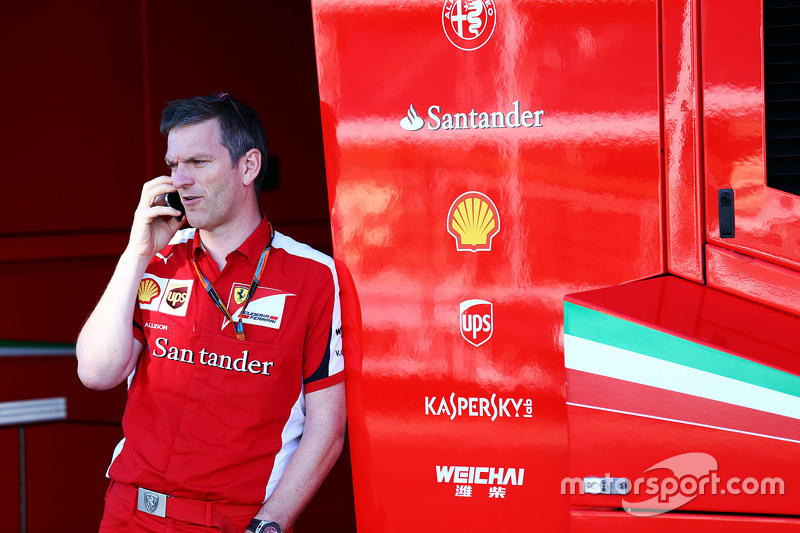 James Allison, Ferrari, Technischer Direktor, Chassis
