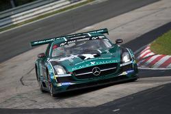 #2 Black Falcon Mercedes-Benz SLS AMG GT3: Adam Christodoulou, Hubert Haupt, Abdulaziz al Faisal, Yelmer Buurman