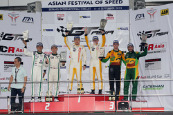 Podium 3-Hours of Sepang: Keita Sawa, Adderly Fong, Anthony Liu, Davide Rizzo, Darryl O'Young, Daniel Lloyd