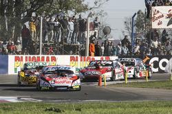 Guillermo Ortelli, JP Racing Chevrolet y Nicolas Bonelli, Bonelli Competicion Ford y Matias Rossi, D