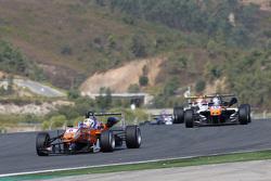 Michele Beretta, Mücke Motorsport Dallara Mercedes-Benz; Matt Solomon, Double R Racing Dallara Mercedes-Benz