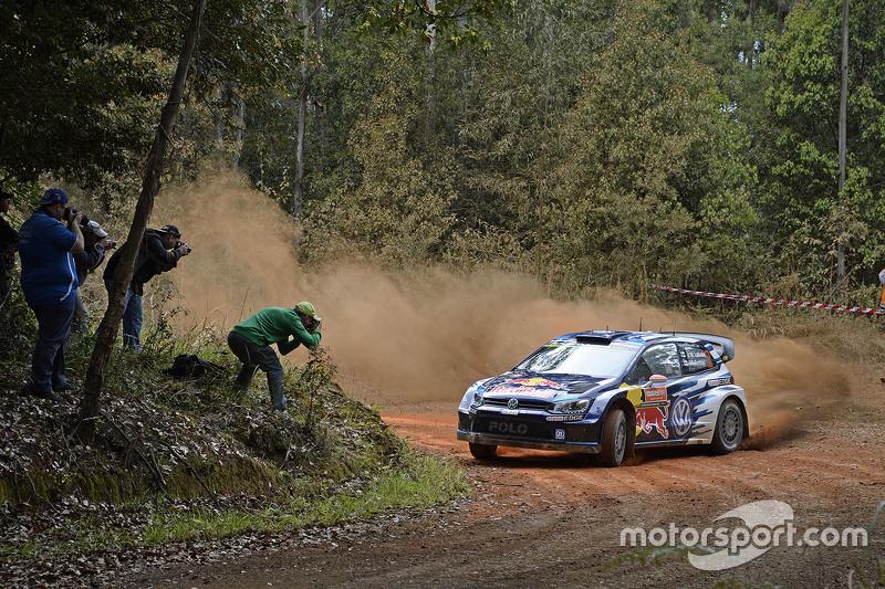 Jari-Matti Latvala und Miikka Anttila, Volkswagen Polo WRC, Volkswagen Motorsport