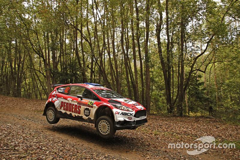 Scott Pedder und Dale Moscatt, Ford Fiesta R5