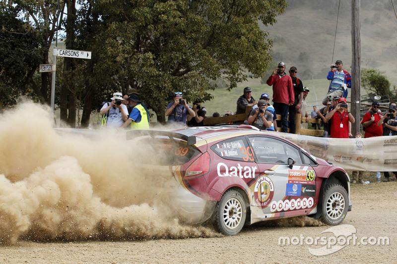 Нассер Аль-Аттія та Матьє Бомел, Ford Fiesta RRC