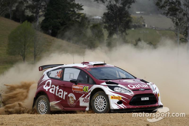 Abdulaziz Al-Kuwari und Marshall Clare, Ford Fiesta RRC