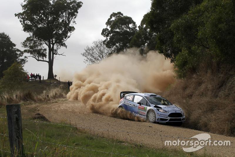 Elfyn Evans und Daniel Barrit, M-Sport Ford Fiesta WRC