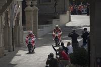 Андреа Довіціозо та Андреа Янноне, Ducati Team, на вилиці Сан-Маріно