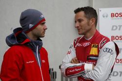 Miguel Molina, Audi Sport - Takım: Abt Audi RS 5 DTM ve Timo Scheider, Audi Sport - Takım: Phoenix Audi RS 5 DTM