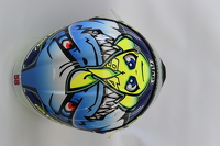 Special helmet design for Valentino Rossi, Yamaha Factory Racing