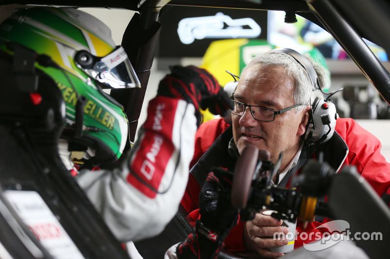 Mike Rockenfeller, Audi Sport - Takım: Phoenix Audi RS 5 DTM ve araç mühendisi Jürgen Jungklaus