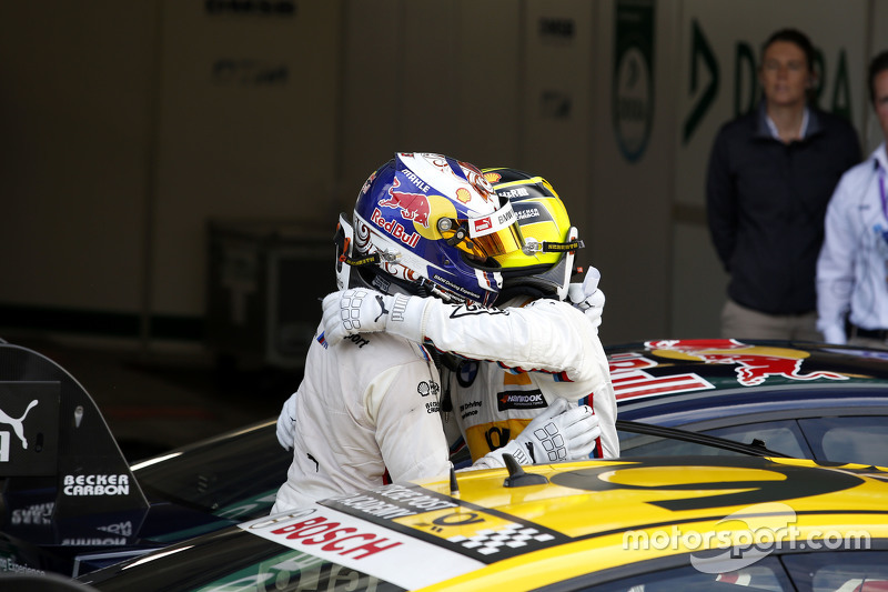 Antonio Felix da Costa, BMW Team Schnitzer BMW M4 DTM and winner Timo Glock, BMW Team MTEK BMW M3 DTM