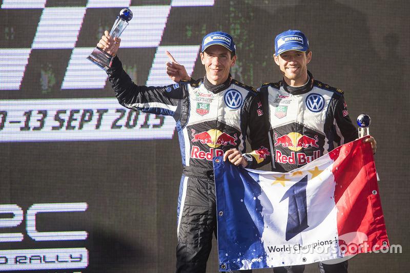 Rallye-WM (WRC): Sebastien Ogier (Frankreich) und Julien Ingrassia (Frankreich)