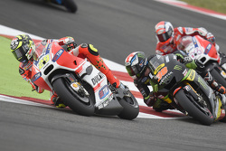Andrea Iannone, Ducati Team e Bradley Smith, Tech 3 Yamaha and Andrea Dovizioso, Ducati Team