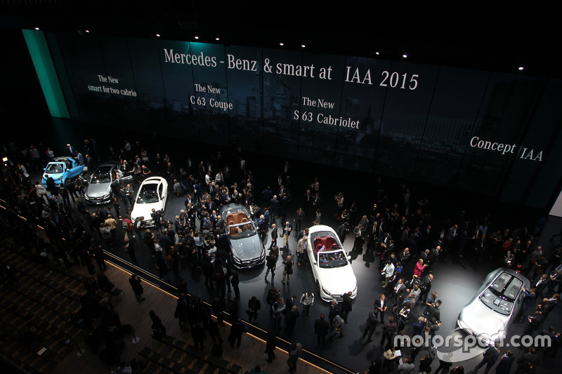 Mercedes Stand