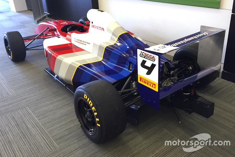 New F4 United States Championship car