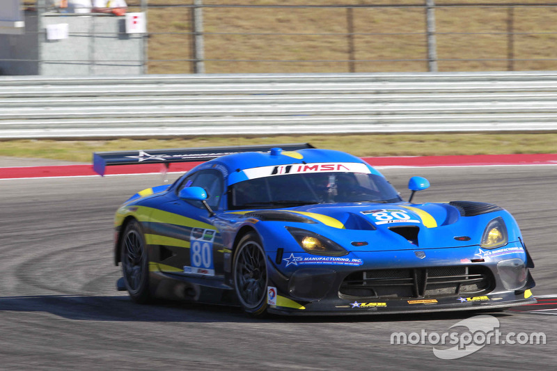 #80 Lone Star Racing Dodge Viper GTR3: Dan Knox, Marc Goossens