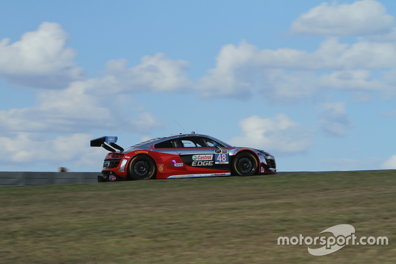 #48 Paul Miller Racing Audi R8 LMS: Крістофер Гаазе, Dion von Moltke