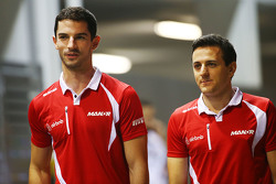 Alexander Rossi, Manor F1 Team e Fabio Leimer, Manor F1 Team Test and Reserve Driver