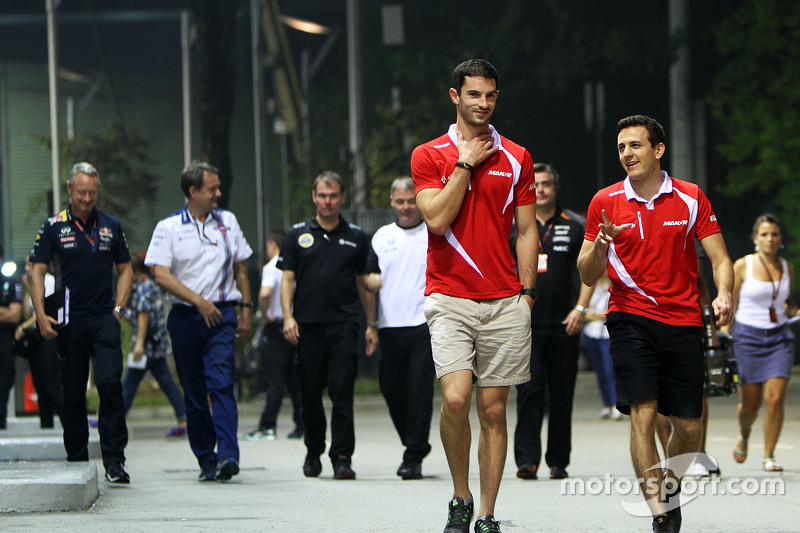 Alexander Rossi, Manor Marussia F1 Team with Fabio Leimer, Manor Marussia F1 Team Test and Reserve D