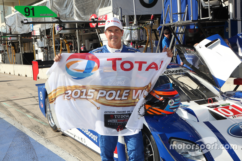 P polesitter #01 Chip Ganassi Racing Ford/Riley: Scott Pruett, Joey Hand