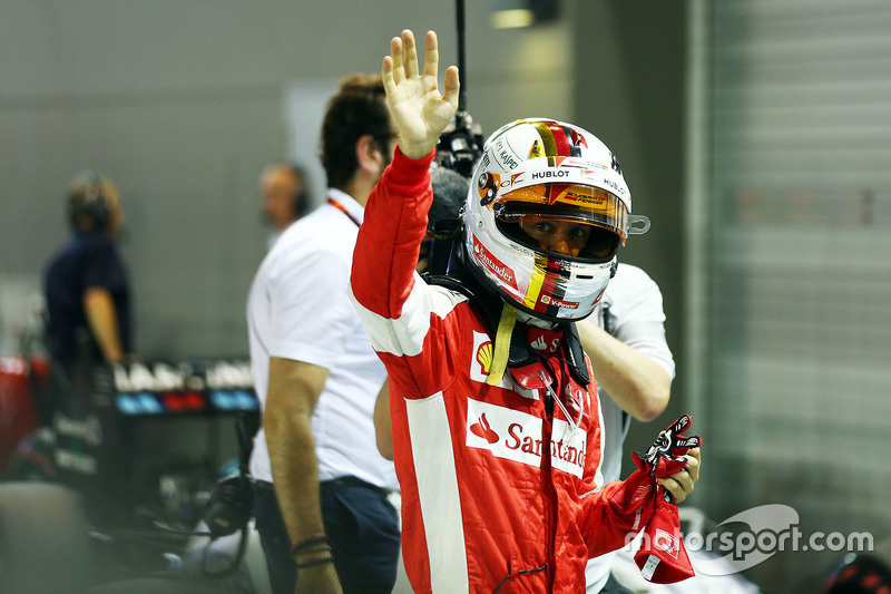Polesitter: Sebastian Vettel, Ferrari
