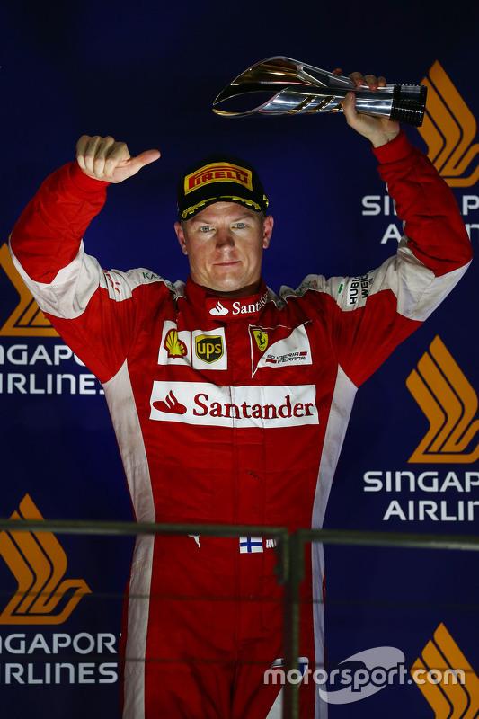 Derde Kimi Raikkonen, Ferrari