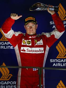 3. Kimi Räikkönen, Ferrari