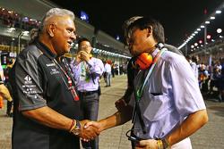 Dr. Vijay Mallya, Sahara Force India F1 op de grid