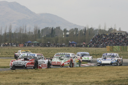 Jose Manuel Urcera, JP Racing Torino y Mariano Altuna, Altuna Competicion Chevrolet con Gabriel Ponc