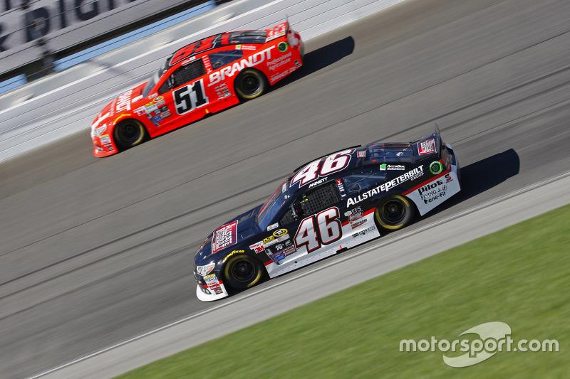Майкл Аннетт, HScott Motorsports Chevrolet та Джастін Алльгайер, HScott Motorsports Chevrolet