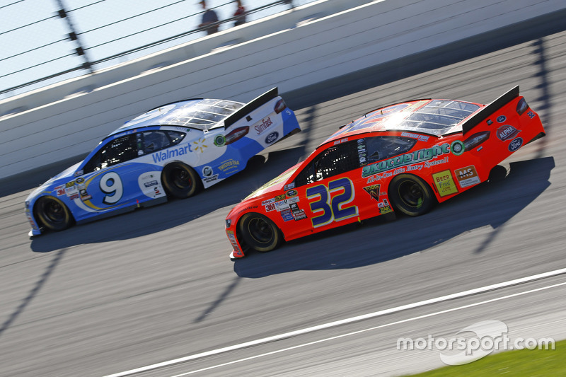 Josh Wise und Sam Hornish Jr., Richard Petty Motorsports Ford