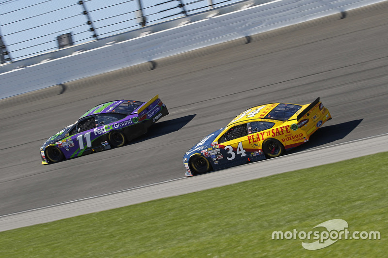 Brett Moffitt and Denny Hamlin, Joe Gibbs Racing Toyota