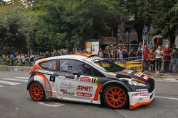 Stefano Baccega e Marco Menchini, Bernini Rally