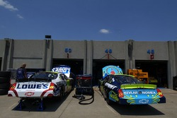 Special paint schemes for Jimmie Johnson and Jeff Gordon