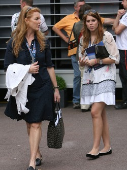 Sarah Ferguson and Princess Beatrice of York