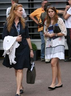 Sarah Ferguson and Princess Beatrice of York