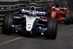 Alexander Wurz, Williams F1 Team, Kimi Raikkonen, Scuderia Ferrari