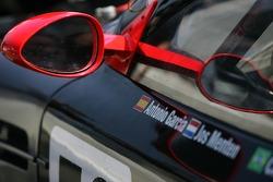 Detail of the Team Modena Aston Martin DBR9
