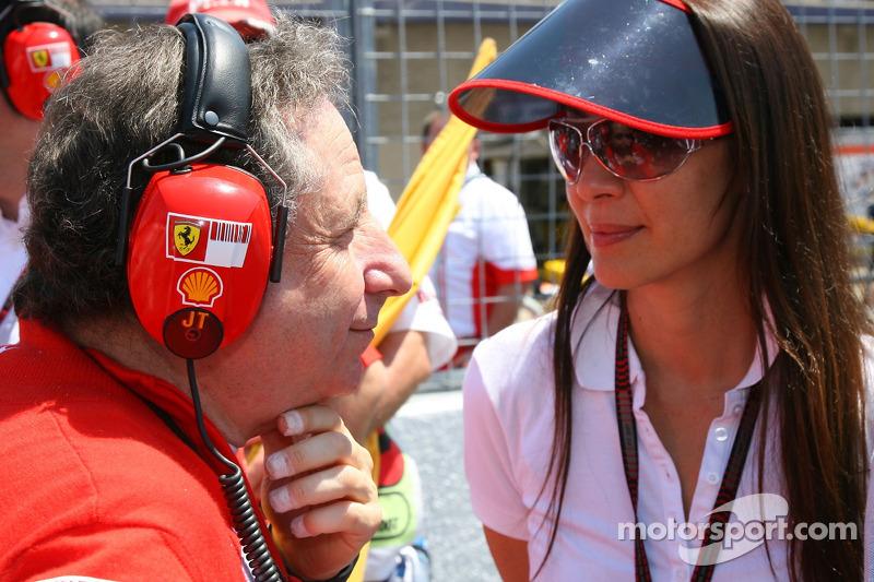 Jean Todt Scuderia Ferrari Ferrari Ceo And Michelle Yeoh