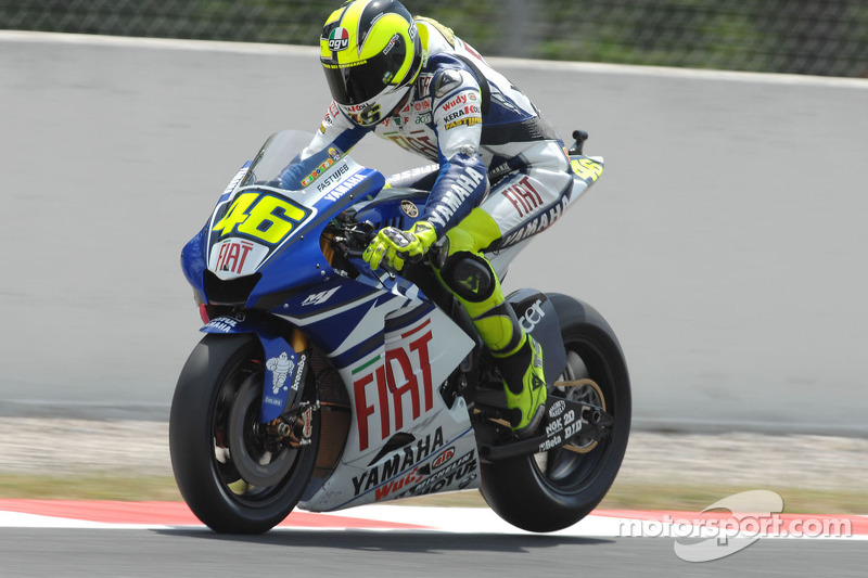 2007. Yamaha YZR-M1 - бронзовий призер, 4 перемоги, 241 очко