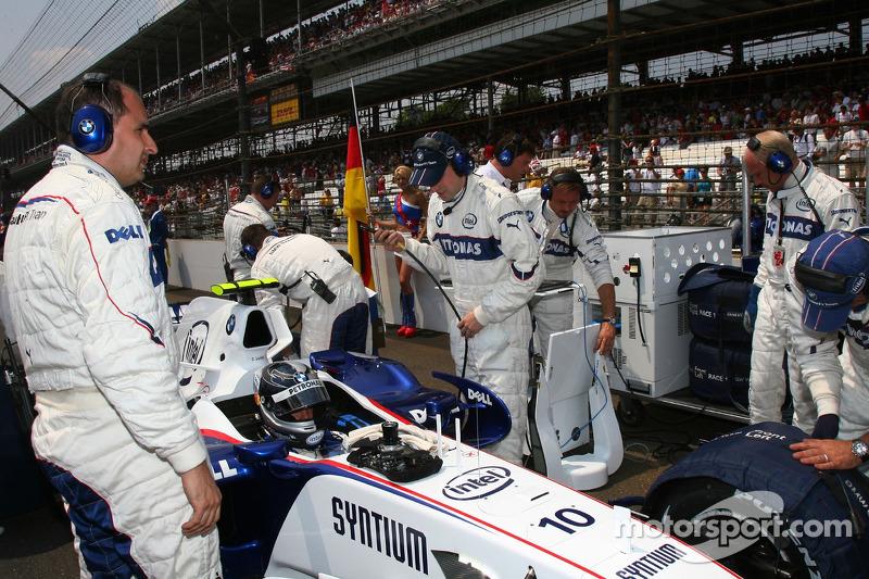 Себастьян Феттель, тест-пілот, BMW Sauber F1 Team