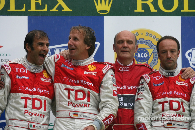 2007: Frank Biela, Emanuele Pirro, Marco Werner