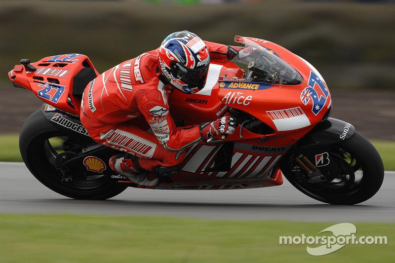 2007 - Donington: Casey Stoner, Ducati Desmosedici GP7