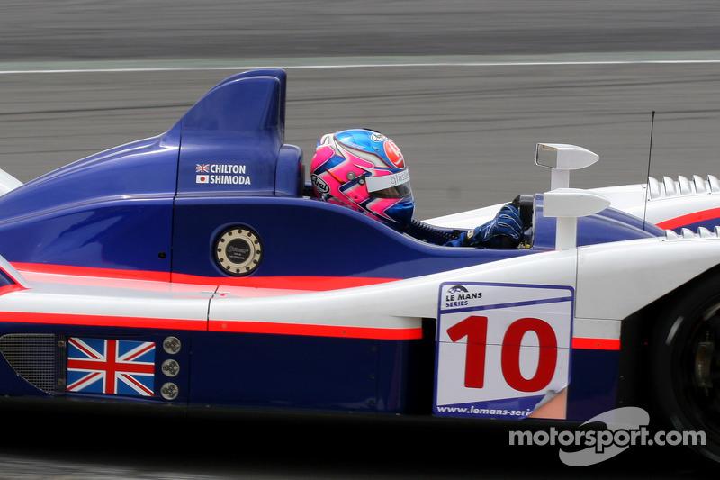 #10 Arena International Motorsport Zytek 07S - Zytek: Tom Chilton, Hayanari Shimoda